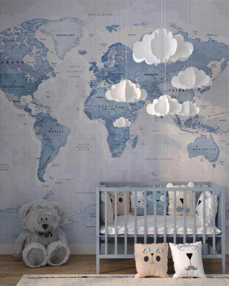 Fototapety Baby Blue | fototapeta do pokoju dziecka