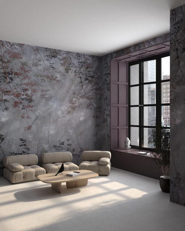 Fototapety Scolorito Grigio   tapety 3d do salonu