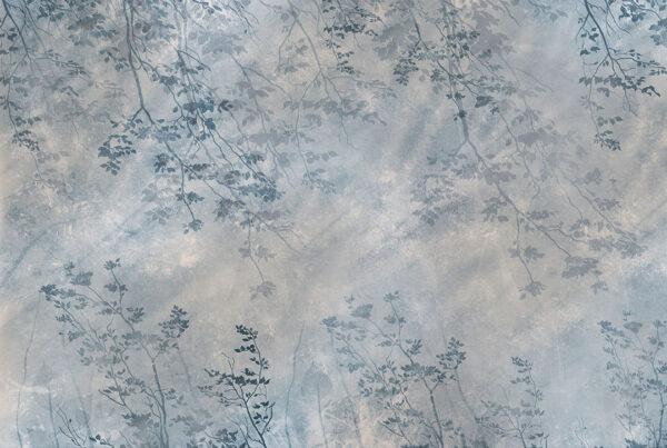 Fototapety Scolorito Grigio szaro-niebieski przykład   tapety 3d do salonu