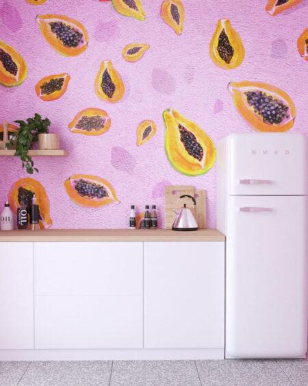 Fototapety Fruity Pinko | tapety 3d na ścianę