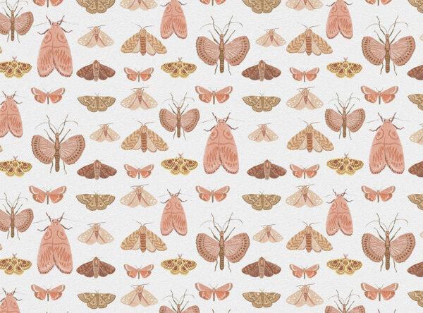 Fototapety Fan Light z motylami | tapety 3d do salonu