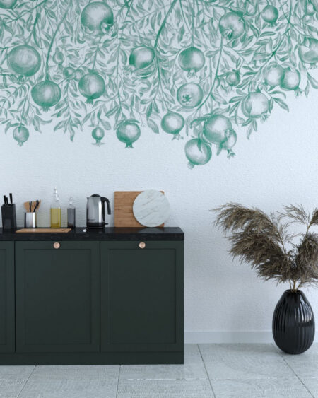 Fototapety Garnet Green | fototapeta do kuchni