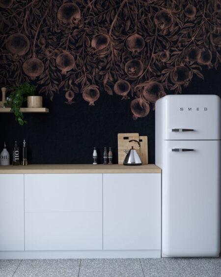 Fototapety Garnet Black | fototapeta do kuchni