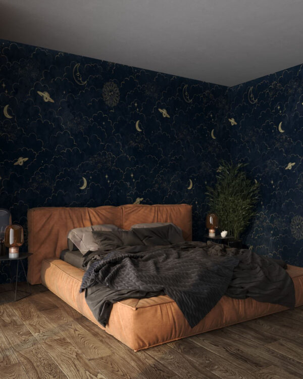 Fototapety Welkin Dark   tapety 3d do sypialni