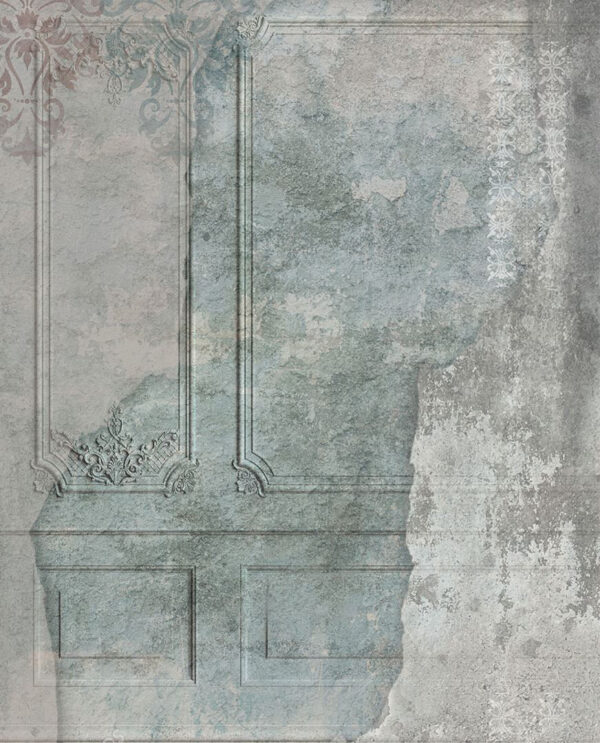 Fototapety Venice Vintage flower szare odcienie | nowoczesne tapety 3d