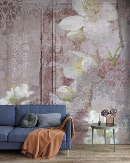 Fototapety Venice Pink | tapety 3d do salonu