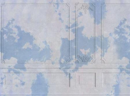 Fototapety Venice Blue clouds przykład błękitnego nieba | tapety 3d do sypialni