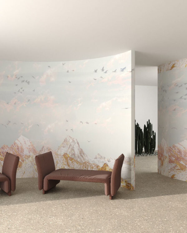 Fototapeta góry Freedom White Mountains | tapety 3d do salonu