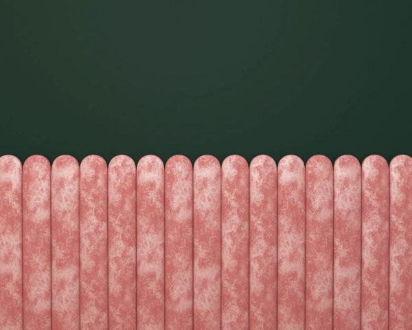 Fototapety Equalizer Pink Horizontal zielone tło | tapety 3d