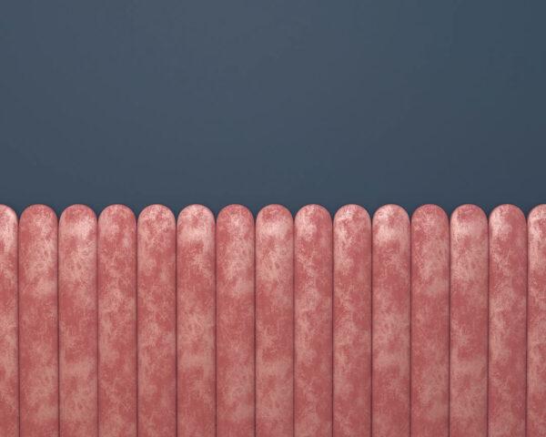 Fototapety Equalizer Pink Horizontal niebieskie tło | tapety 3d