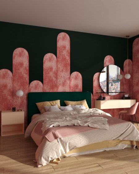 Fototapety Equalizer Pink Crankle | tapety 3d do sypialni