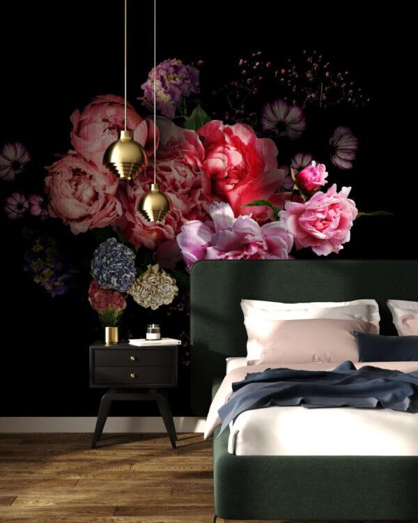 Fototapety Bouquet | tapety 3d do sypialni