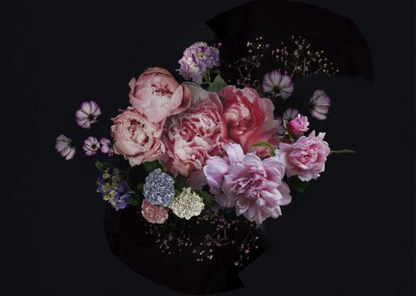 Fototapety Bouquet Dark background | fototapeta kwiaty