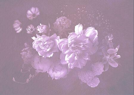 Fototapety Bouquet Rosy liliowy odcień | fototapeta kwiaty