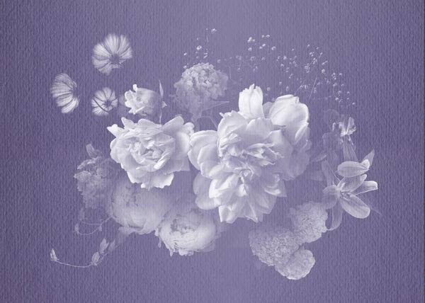 Fototapety Bouquet Rosy fioletowy odcień   fototapeta kwiaty