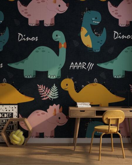Fototapety Dinos | fototapeta do pokoju dziecka