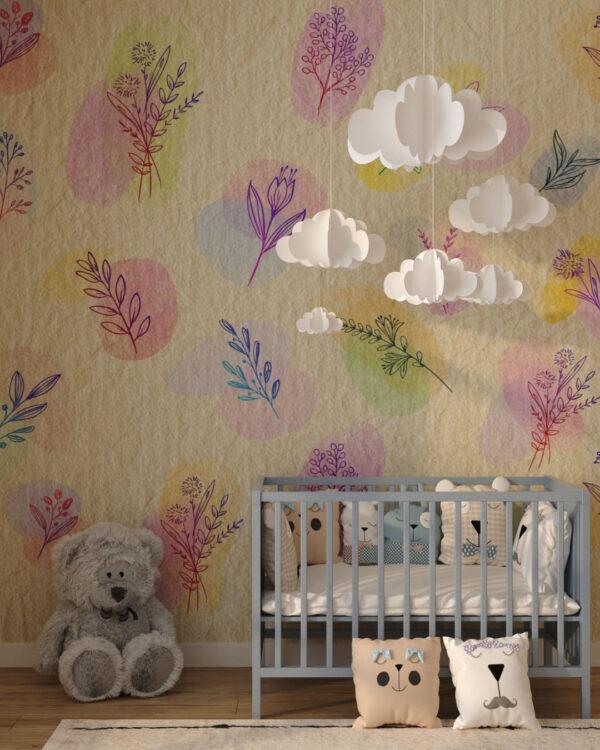 Fototapety Autumn Beige   tapeta do pokoju niemowlaka