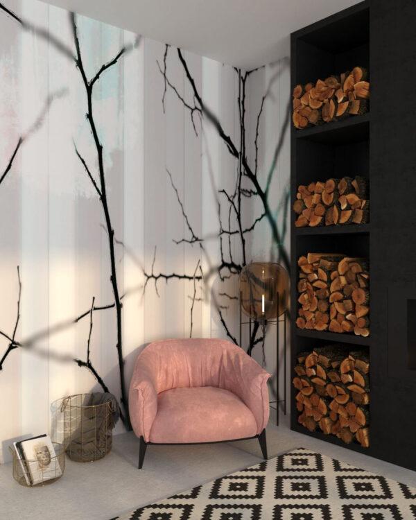 Fototapety Clarity White | tapety 3d do salonu