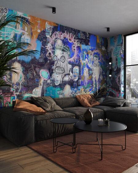 Fototapety Graffiti Heroes | fototapeta do sypialni i tapety 3d