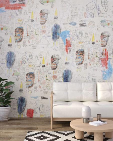 Fototapety Graffiti Light | tapety 3d do salonu