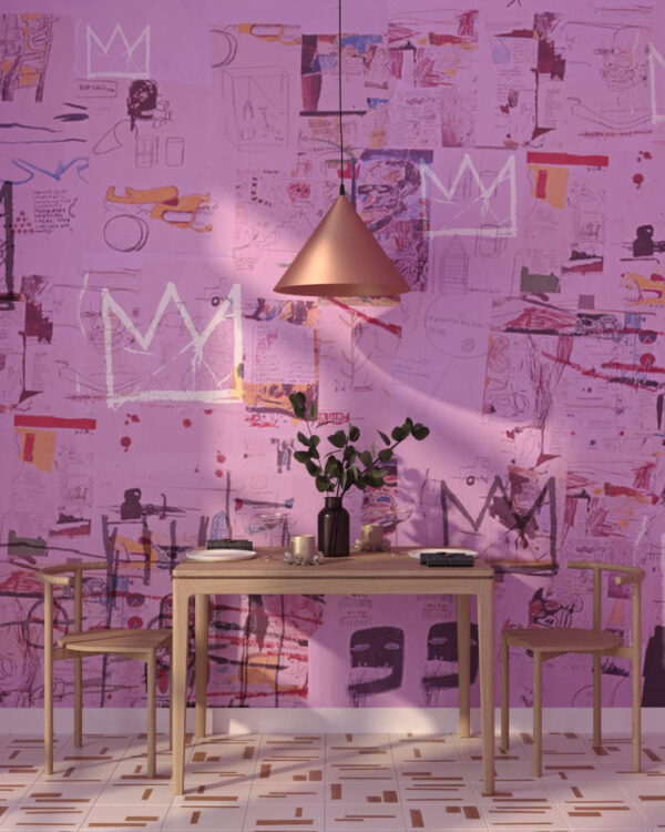 Fototapety Graffiti Pink | fototapeta do kuchni