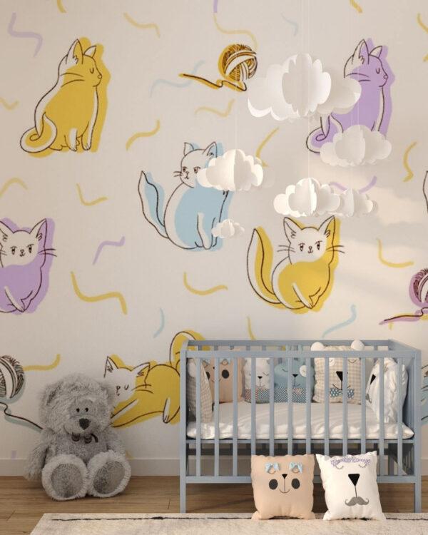 Kup Unikat Fototapety Meow | fototapeta dziecięca