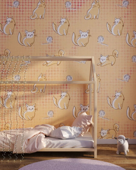 Fototapety Meow | fototapeta do pokoju dziecka