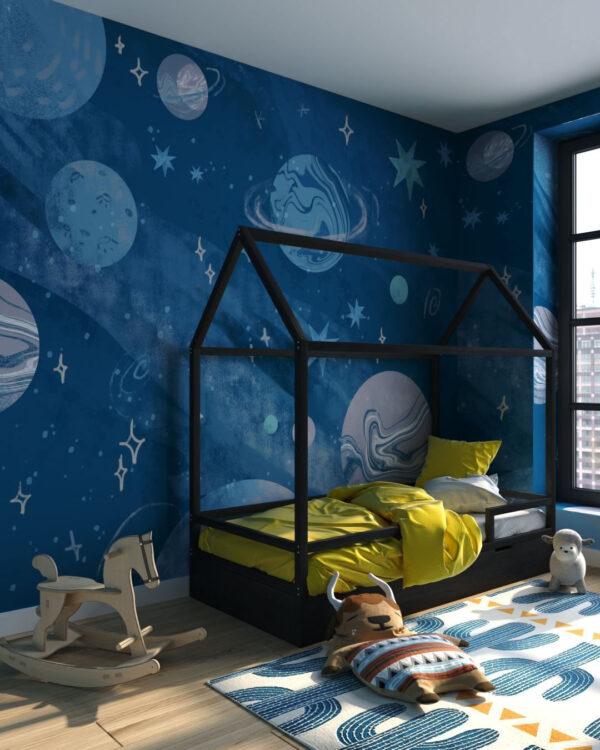 Fototapeta Planety Kosmosu | fototapeta do pokoju dziecka