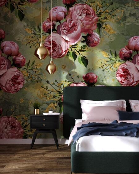 Fototapety Bloom Green | fototapeta do sypialni