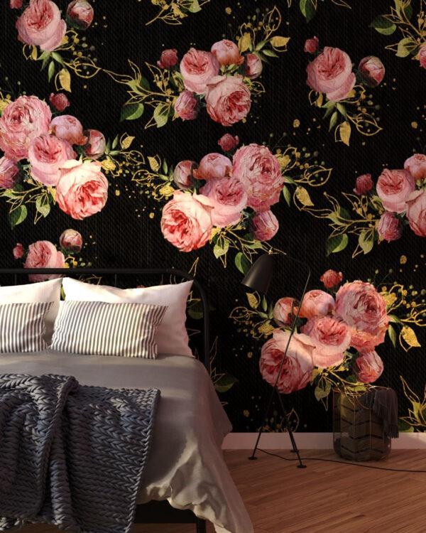 Fototapety Bloom Pattern | tapety 3d do sypialni kwiaty
