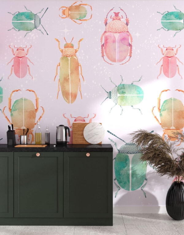 Fototapety Chafer Bright | tapety 3d do kuchni