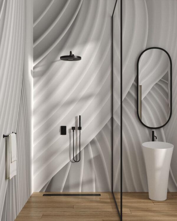 Fototapety Plastic Cool | tapeta 3d do łazienki