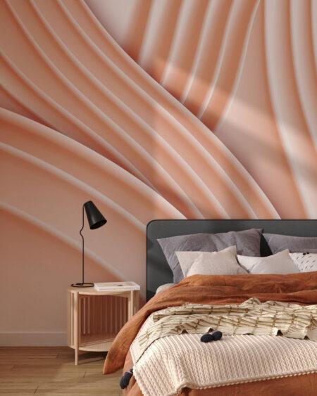 Fototapety Plastic Peach   tapety 3d do sypialni