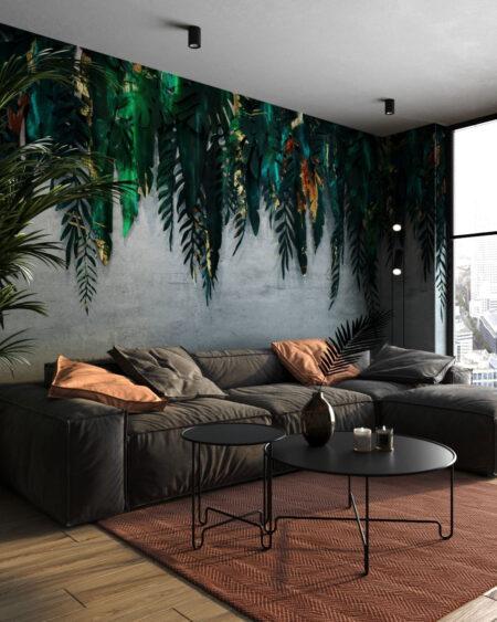 Fototapety 3D Forest Green | tapety 3d do salonu