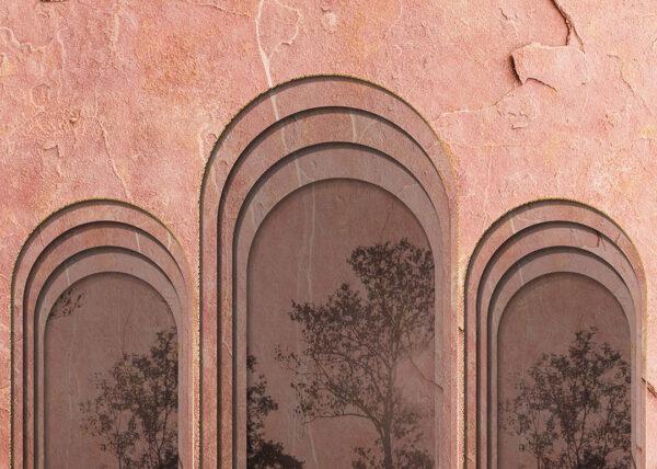 Fototapety Glyph Mountains kolor ciała | fototapeta las i tapety 3d