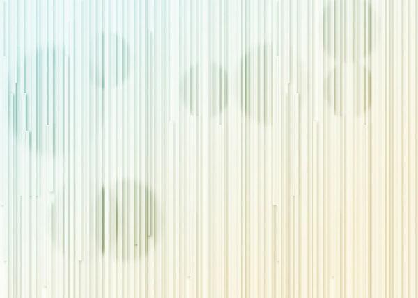 Fototapety Glyph Circles zielono-żółty gradient   tapety 3d