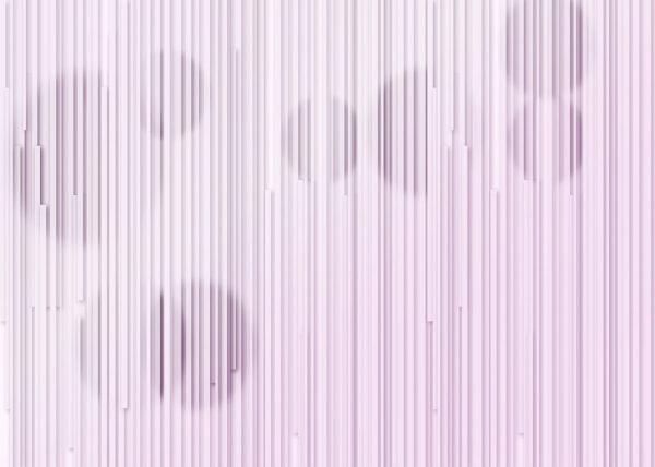 Fototapety Glyph Circles lawendowy odcień   tapety 3d