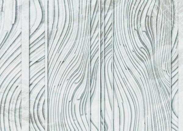 Fototapety Glyph Grey przykład | tapety 3d do salonu