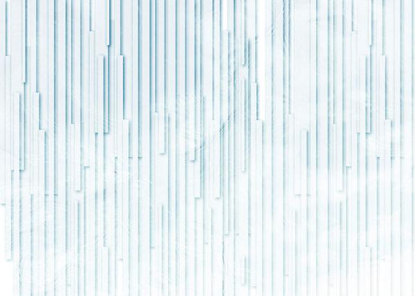 Fototapety Glyph Blue niebieskie odcienie | tapety 3d do salonu