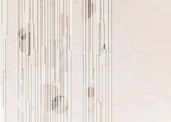 Fototapety Glyph Beige jasne odcienie | tapety 3d