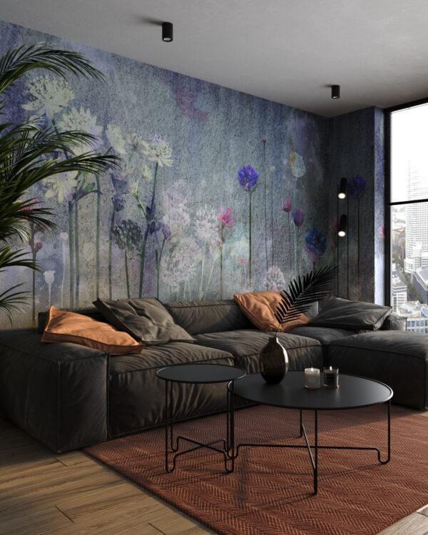 Fototapety Watercolor Field | tapety 3d do salonu