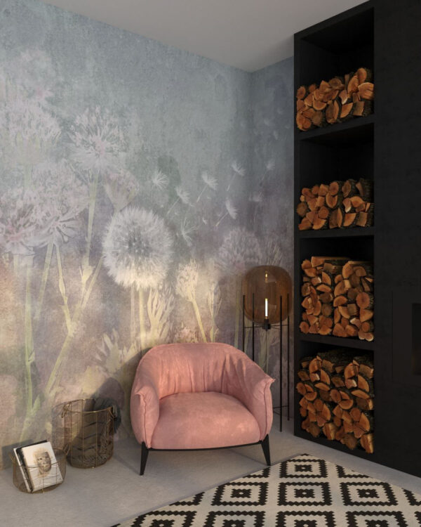 Fototapety Watercolor Seeds | tapety 3d do salonu