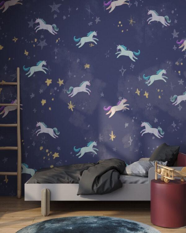 Fototapety Unicorns Pattern | fototapeta do pokoju dziecka