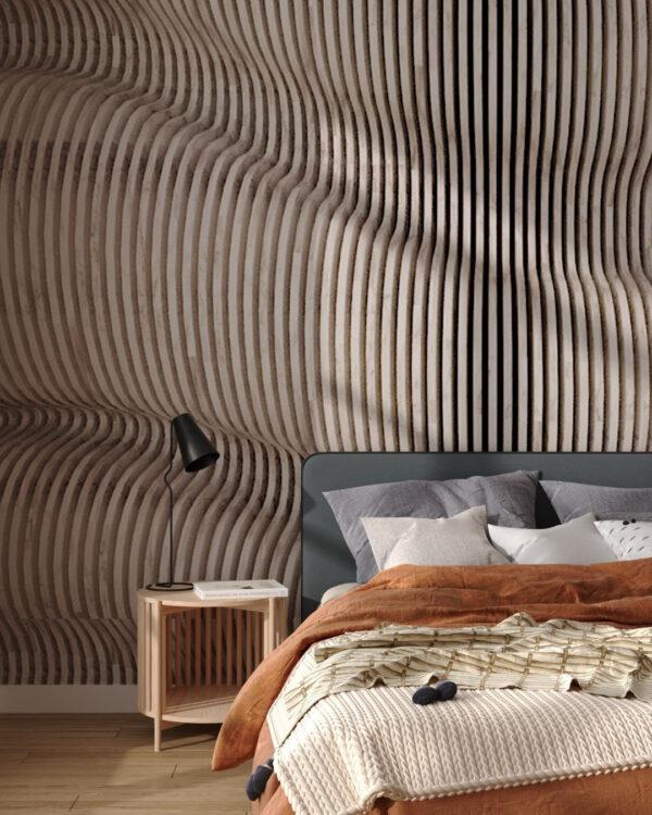 Fototapety Wood Maple | tapety 3d do sypialni