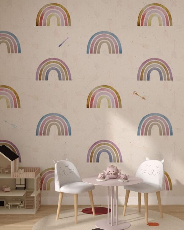 Fototapety Arcobaleno light | fototapeta do pokoju dziecka