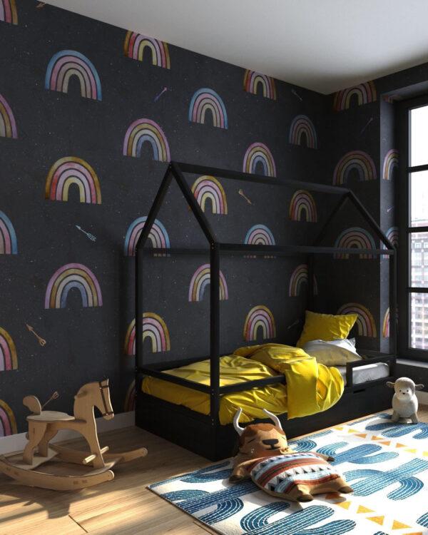 Fototapety Arcobaleno deep | fototapeta do pokoju dziecka