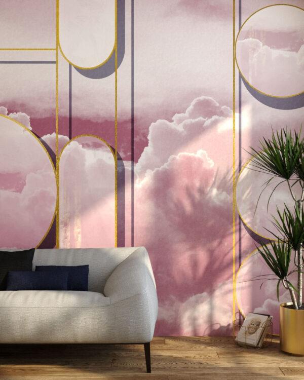 Fototapety Foliage Sky | tapety 3d do salonu
