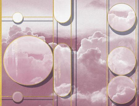Fototapety Foliage Sky różowy odcień | fototapeta niebo