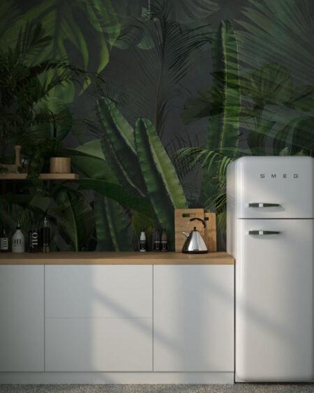 Fototapety Foliage Gray | tapeta do kuchni 3d