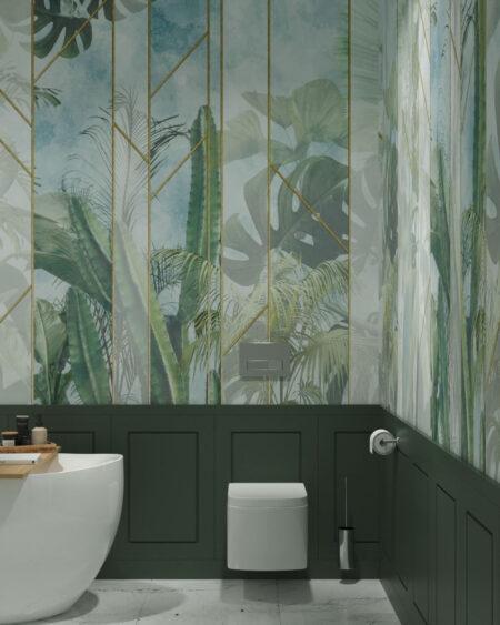 Fototapety Foliage Behind the Glass | fototapeta do łazienki